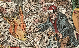 """From """"True reform of parliament"""" by James Gillray"""