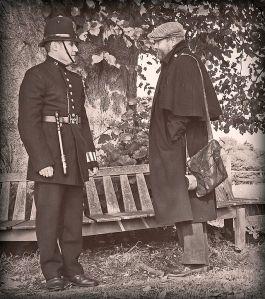 Victorian policeman, by Antony McCallum