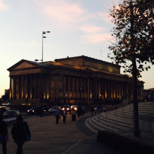 Liverpool's St George's Hall - former location of the Assizes