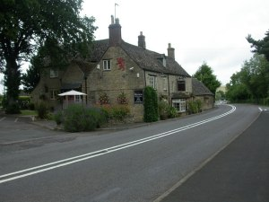 The Red Lion in Long Compton: photo by Mike Faherty from Geograph.