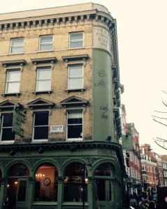 The Old Rising Sun on Marylebone High Street