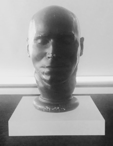 The death mask of Daniel Good, executed in 1842 for the murder of his wife. Photo: Nell Darby